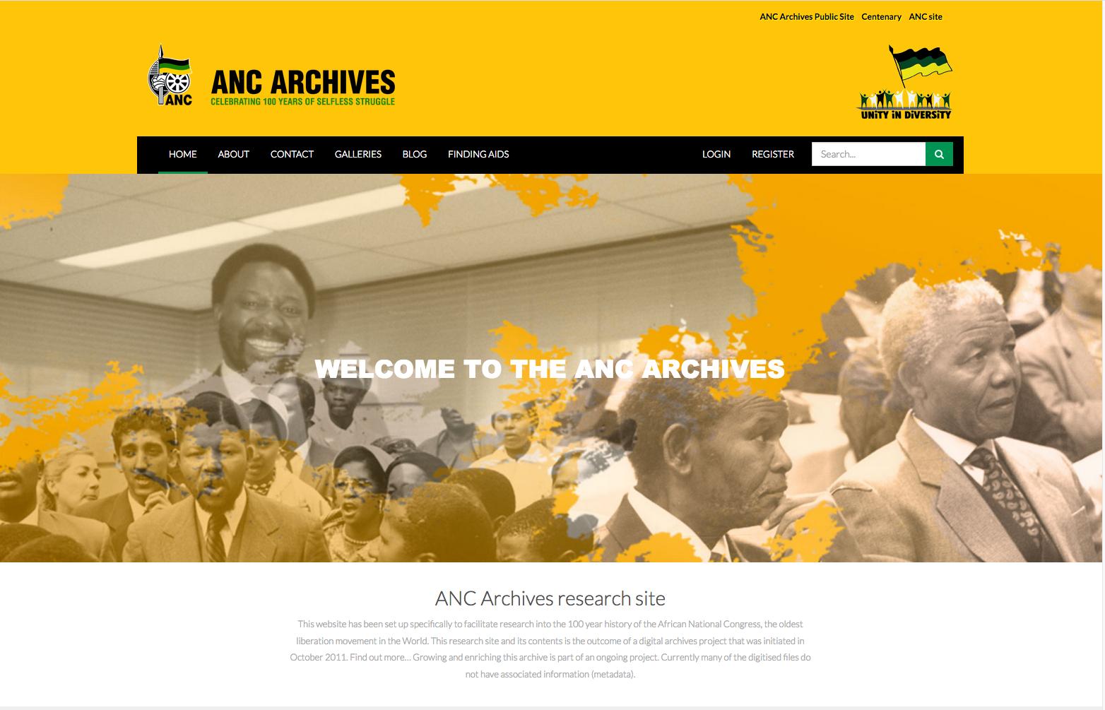 ANC Archive MEMAT site