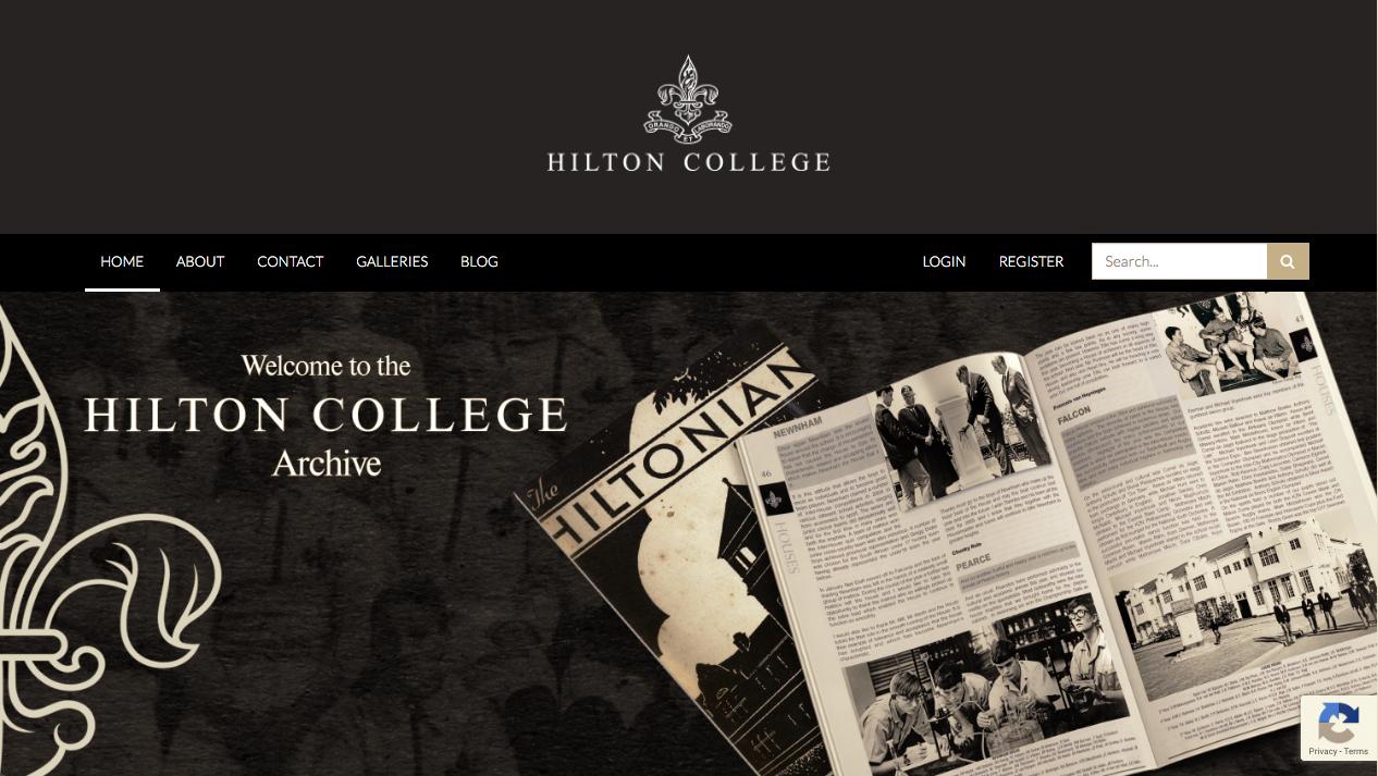 Hilton College Archive MEMAT