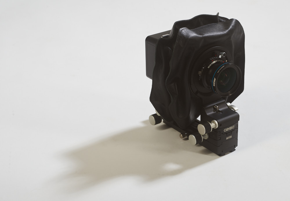 Cambo Actus DB II camera with a 70 mm Rodenstock lens
